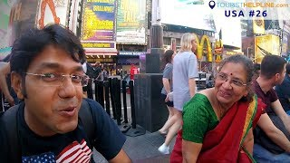 Download Times Square, New York | See whom I met !! Video