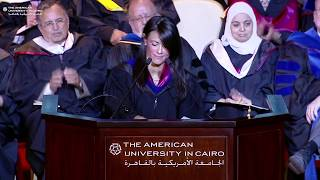 Download Spring 2018 Graduate Commencement Keynote Speech | Minister Rania Al-Mashat '95 Video