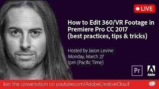 Download How to Edit 360/VR Footage in Premiere Pro CC 2017 Video