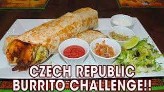 Download MAXI BURRITO CHALLENGE IN CZECH REPUBLIC!! Video