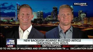 Download Fox News Interview: Benham Brothers Defend HGTV Stars Targeted for Their Christian Beliefs Video