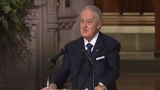 Download Former Canadian PM Brian Mulroney delivers eulogy for HW Bush [FULL VIDEO] Video