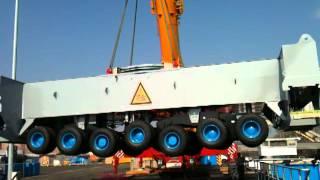 Download Terex AC 500-2 hebt Unterwagenfahrwerk vom Gottwald HMK 6407 Video
