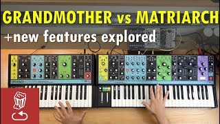 Download Matriarch vs. Grandmother // New Features in Moog Matriarch Video