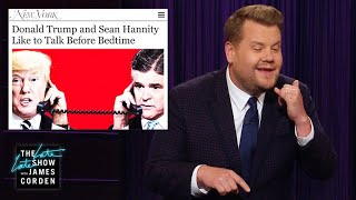 Download Donald Trump & Sean Hannity Get Flirty at Night Video
