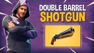 Download NEW Double Barrel Shotgun!! - Fortnite Battle Royale Gameplay - Ninja Video