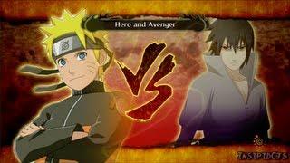 Download Naruto Ultimate Ninja Storm 3 Naruto Vs Sasuke S-Rank Hero (English) Video