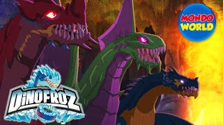 Download DINOFROZ episode 16 | MESSAGE FROM THE PAST | Dinosaur cartoon for kids Video
