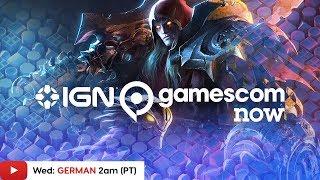 Download Gamescom 2019: Darksiders Genesis, Grid & More! - IGN Live (GERMAN) Video