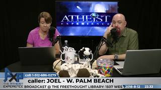 Download Did Jesus Exist & Appeal to Silence | Joel - West Palm Beach, FL | Atheist Experience 22.32 Video