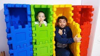 Download Dad Pretend Play Hide and Seek with Öykü Toy for kids - Funny Oyuncak Avı Video