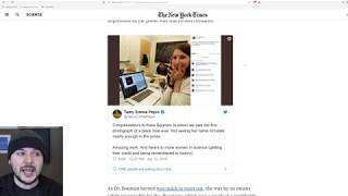 Download Katie Bouman BLACK HOLE Controversy, NYT Says Her Technique Was Not Used??! Video