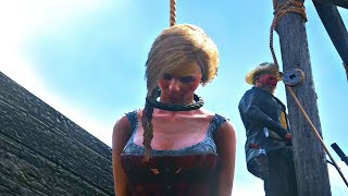 Download Red Dead Redemption 2 - Arresting Prostitute & Watching Her Hang Video