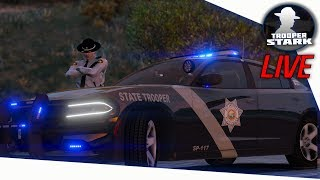 Download GTA 5 Roleplay   SA'F LIVE   State Patrol #12 Video