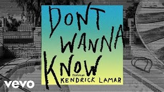 Download Maroon 5 - Don't Wanna Know (Audio) ft. Kendrick Lamar Video