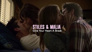 Download Stiles & Malia | Give Your Heart A Break Video