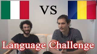 Download LANGUAGE CHALLENGE - Romanian VS Italian Video