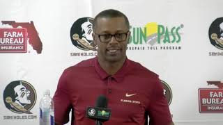 Download Florida State head football coach Willie Taggart on correcting mistakes, possible solutions Video