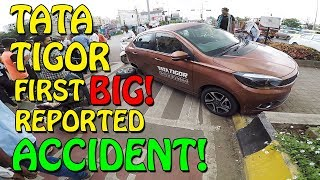 Download TATA TIGOR FIRST REPORTED ACCIDENT 2017 | TEST VEHICLE Video