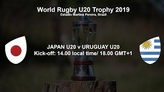 Download World Rugby U20 Trophy 2019 - Japan U20 v Uruguay U20 Video