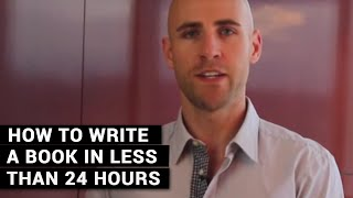 Download How To Write A Book In Less Than 24 Hours Video