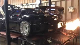 Download 4 Rotor Turbo RX7 Screaming on the Dyno! Video