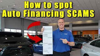 Download CAR LOAN contracts. How to read them so you don't get SCAMMED into paying too much. Video
