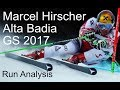 Download Marcel Hirscher Alta Badia GS analysis 2017 Video