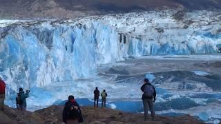 Download Massive Glacier Wall Collapse Video