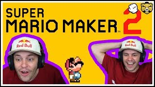 Download SUPER MARIO MAKER 2 REACTION AND BREAKDOWN of NINTENDO DIRECT SLOPES! VERTICAL LEVELS! SO MUCH HYPE! Video