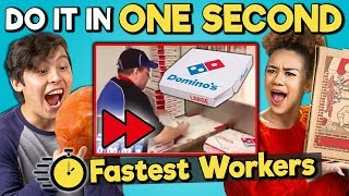 Download Try to Complete In One Second Challenge (Fastest Workers) Video
