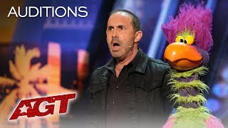 Download Michael Paul And His Hilarious Bird Of Prey Earn A YES! - America's Got Talent 2019 Video