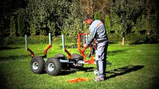 Download ATV-Work trailer, snow plow test by motosport.si Video