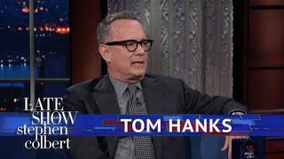 Download Tom Hanks And Stephen Argue Christmas Tree Technique Video