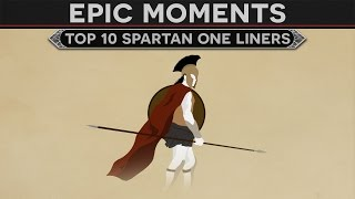 Download Epic Moments in History - Top 10 Spartan One Liners Video