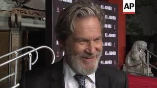 Download Jeff Bridges talks Golden Globes, Standing Rock at his Hollywood handprint ceremony Video