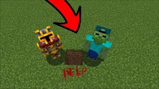 Download DON'T DIG STRAIGHT DOWN IN MINECRAFT !! DANGEROUS MONSTERS INSIDE !! Minecraft Mods Video
