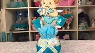 Download Centro de mesa para baby shower super facil Video