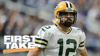 Download First Take debates whether hit on Aaron Rodgers was dirty | First Take | ESPN Video