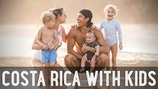 Download Surf Lessons for Kids in Costa Rica!! /// WEEK 109 : Costa Rica Video