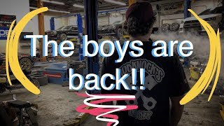 Download The boys are back! Video