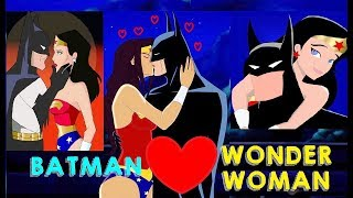 Download BATMAN & Wonder Woman Romantic Moments || Justice League & Justice League Unlimited TV Series || Video