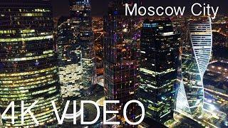 Download Moscow city | Москва сити | 莫斯科 | Night Ed | Russia 4K Video