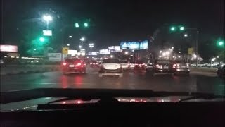Download Cairo Driving Dash Cam: Video(5): Nasr City at night Video