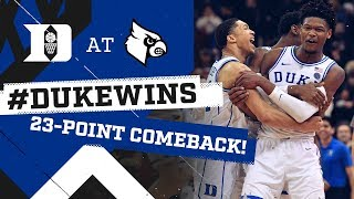 Download Duke Basketball: Historic Comeback at Louisville! (2/12/19) Video