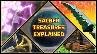 Download Explaining All 7 Sacred Treasures And Their Abilities | Seven Deadly Sins Explained Video