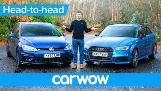 Download VW Golf R vs Audi S3 2018 - find out which is the best | Head-to-Head Video