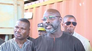 Download President Weah Inspects Road Projects in Bong and Nimba Counties Video