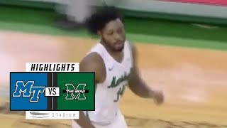 Download Middle Tennessee vs. Marshall Basketball Highlights (2018-19) | Stadium Video