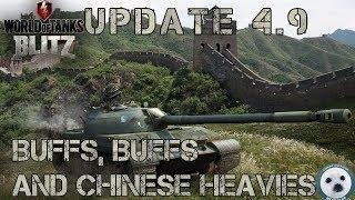 Download Wotb: UPDATE 4.9. Buffs, buffs and Chinese heavies Video